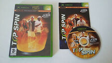 TOP SPIN - MICROSOFT XBOX- JEU X BOX COMPLET