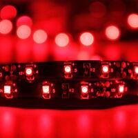 SUPERNIGHT® Black PCB 16.4ft/5M 300LEDs/150LEDs 3528 / 5050 SMD LED Light Strip
