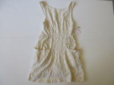 Women's FREE PEOPLE 'Poppy Mini' Sz S Tea Dress Brand New Lace  3+ Extra 10% Off