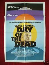 DAY OF THE DEAD * 1985 ORIGINAL MOVIE POSTER 1SH ROMERO ZOMBIE HALLOWEEN C9-C10