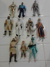 Star Wars 1990's Kenner & Hasbro Figures Lot 10