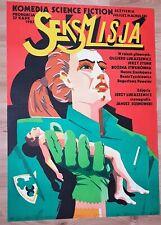SEXMISSION, Original Polish Poster, 1983, Movie Poster, film Jerzy Stuhr, RARE