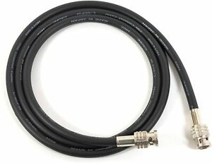 3 Ft Canare L-5CFW Digital Video Coaxial Cable - RG6 HD-SDI 75 OHM Solid Copper