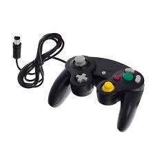 GameCube Gamepad Controller GC Vibration Joypad für Nintendo Wii Gamepad Schwarz