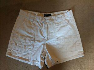 SABREE Womens SIze 6 khaki Cargo Shorts Pockets EUC