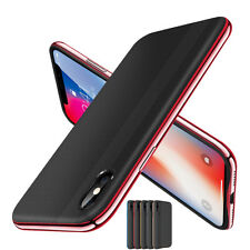For iPhone X 8 7 iphone8 Plus Rugged Shockproof Hybrid Non-Slip Slim Case Cover