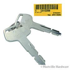 John Deere Original Equipment Key #CH12206