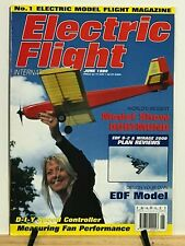 Electric Flight 1999-7 issues w/Binder- RC Airplane -Sailplane -Glider-how to