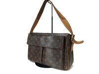 Authentic LOUIS VUITTON Viva Cite GM Monogram Canvas Shoulder Bag LH11590L