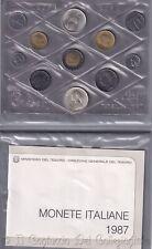 1987 Italia Serie divisionale FDC 500 Lire LEOPARDI argento Repubblica italiana