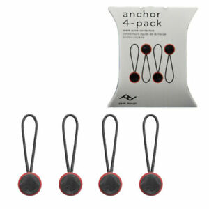 Peak Design Anchor Connector V4 Spare Micro Anchor Quick Connector (4-Pack) DN