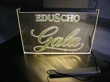 Eduscho Gala Leuchtreklame Neonleuchte Kaffeerösterei Kaffeewerbung Tchibo cafe