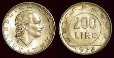 ITALY Italia Italie 200 lire 1978