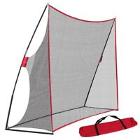 Professional Portable Golf Practice Training Net W/Bow Frame & Bag 10 X 7ft