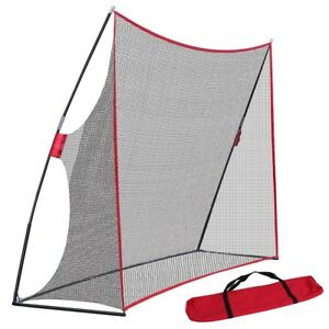 10 X 7 Golf Net Practice Golf Large Hitting Area Great for Year Around Portable