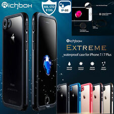 Richbox IP-68 Waterproof Dust Snow Shock Proof Case Cover For iPhone 8/6S/7 Plus