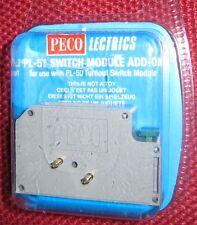Peco Switch Module add-on PL-51 New