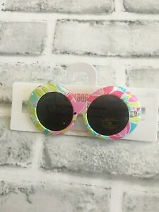 NEW GYMBOREE BABY GIRLS 0-2 YEARS SUNGLASSES TROPICAL FLORAL SUN GLASSES