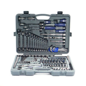 Blue Point Ratchet Socket Wrench Set General Service Set 150PC BLPATSCM150 new