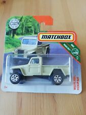 Matchbox Willys Jeep Pickup 4x4 34/35 1:64 2018 Mattel