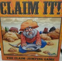 Wattsalpoag Games Claim It! The Claim Jumping Board Game Family Fun