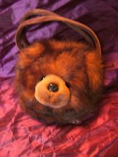 "THE BEARINGTON COLLECTION BROWN BEAR CHILDS BAG 10"""