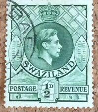 SWAZILAND Stamp 1938-54 (KGVI) 1/2d