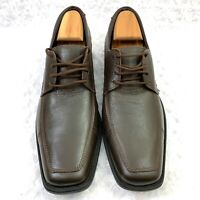 Inglese Calzado Men's Brown Leather Oxford Lace up Size 14