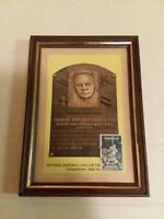 Babe Ruth National Baseball Hall of Fame Postcard & stamp Cooperstown new york