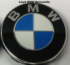 BMW Genuine Alloy Wheel Center Cover Hub Cap Chrome 68mm x1 36136783536