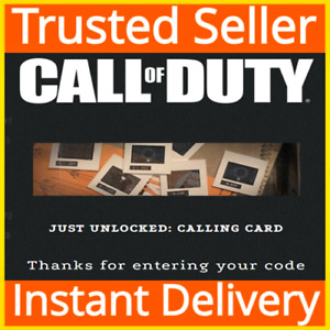 """Call of Duty: Black Ops Cold War / """"Decades in the Making"""" Calling Card DLC"""