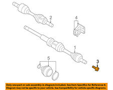 VOLVO OEM 15-18 V60 Drive-Front Suspension-Axle Assembly Bolt 30640878