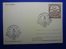 LOT 12576 TIMBRES STAMP ENVELOPPE MUSIQUE POLOGNE ANNEE 1985
