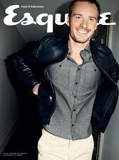 Esquire Magazine Michael Fassbender Sofía Vergara Dominic Sandbrook LIMITED NEW