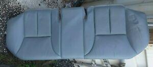 98-02 Mercedes E320 W210 Rear Seat Bottom Cushion Gray Leather - Nice