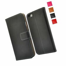 FinestBazaar IPHCSE10 Premium Leather Wallet Case - Black
