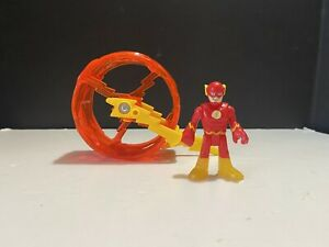 Imaginext DC Super Friends THE FLASH with Speed Force Wheel