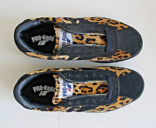Rare Pro Keds Leopard Animal Print Low Cut Shoes Sneakers NOS Size 7 wm 8.5