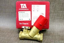 "TA Therm ½"" Thermostatic Circulation Valve with 60°C Thermometer Gauge 52720615"