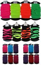 Acrylic Hand-wash Only Leg Warmers for Women