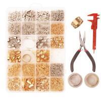 1 Box Jewelry Making Starter Kit Set Finding Earring Bracelet Necklace Craft