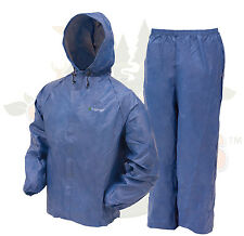 Frogg Toggs  Ultra-Lite II Rain Suit Gear Hiking Camping FREE shipping Blue SM