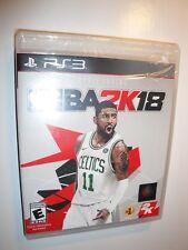 BRAND NEW Sealed NBA 2K18 (Sony PlayStation 3 2017) Basketball game el juego PS3