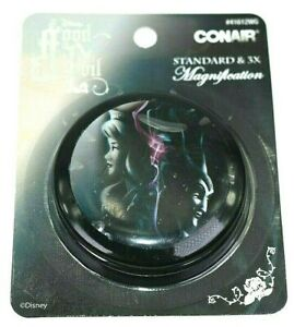 Disney Sleeping Beauty Maleficent Good VS Evil Makeup Compact Mirror by Conair