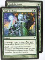 MTG Magic: the Gathering Cards: HEAL THE SCARS x2: LRW