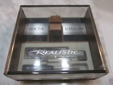 SHURE REALISTIC RXT4 CARTRIDGE AND GENUINE SHURE RX9 STYLUS IN DISPLAY CASE 2