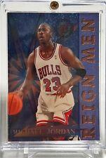 Michael Jordan 1995-96 STADIUM CLUB REIGN MEN Insert Chicago BULLS HOF Rare
