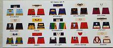 LEGO CUSTOM MINIFIG GLOSSY DECAL SET DC COMICS SET 4 15 FIGURE LOT