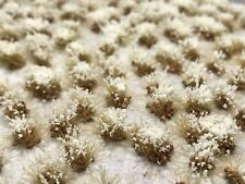 Miniature Model Self Adhesive Static Grass Tufts - 6mm Rocky Snow Frosted