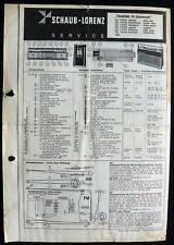Historische Radio-Anltg.~ITT Touring 70 Universal~ Kofferradio 1966 orig Manual